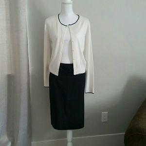 Studio Y pencil skirt sz 9 black nwot